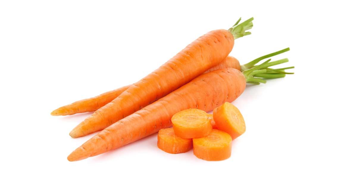 Siete beneficios de la zanahoria que desconocías.