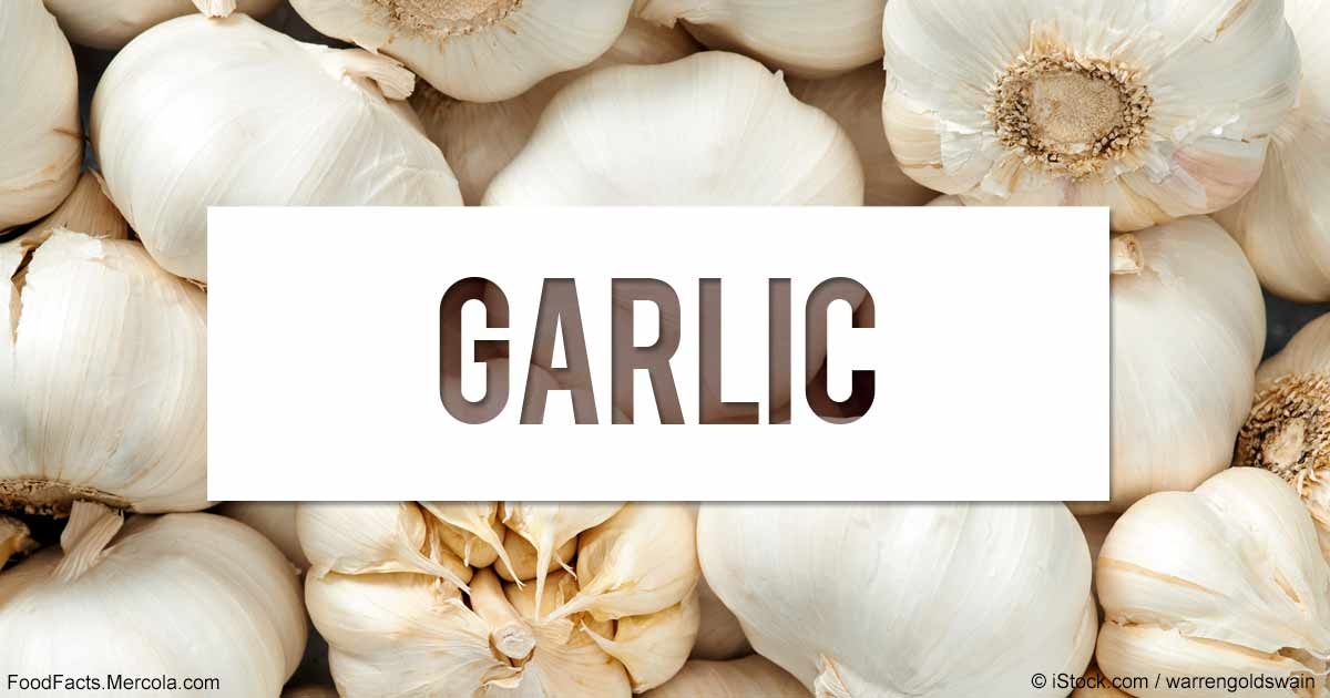 What Is Garlic Good For? Mercola com