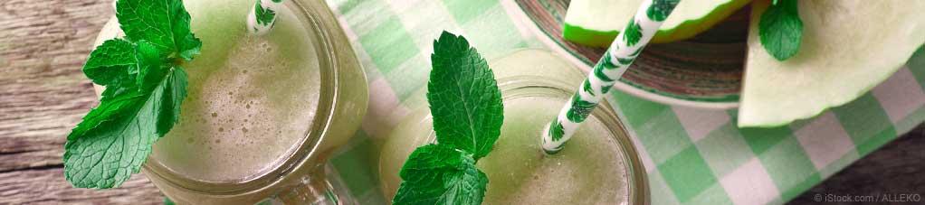Creamy Honeydew Smoothie