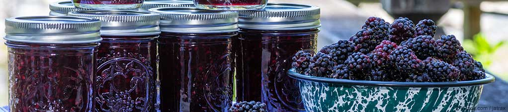 Chia Seed Marionberry Jam Recipe