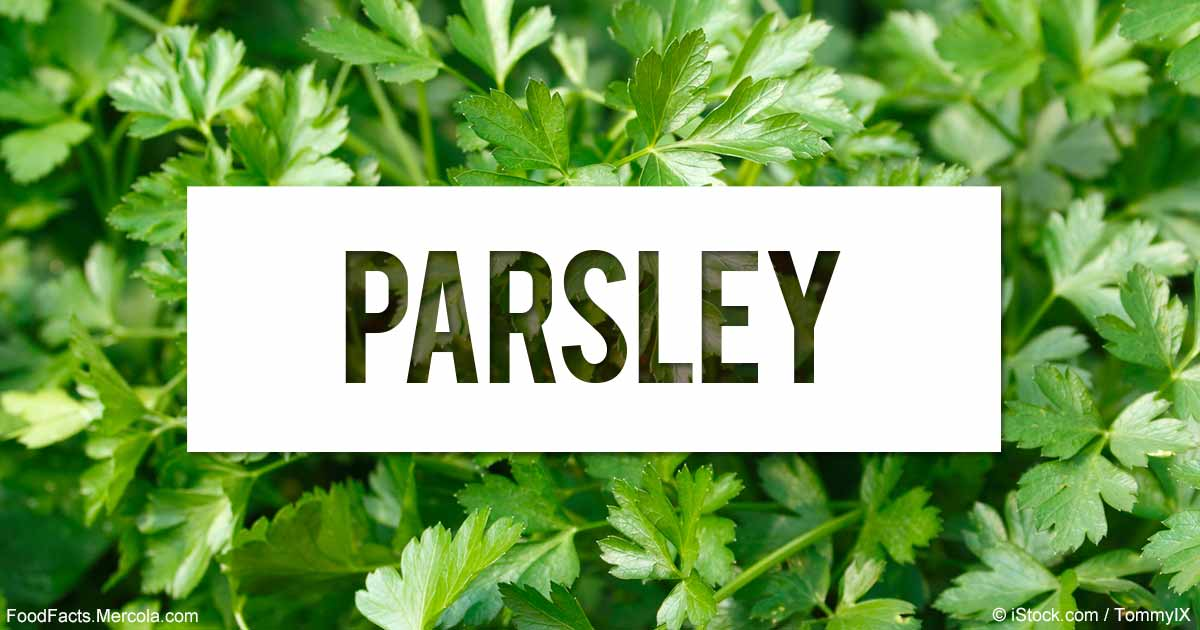 What is Parsley Good For?