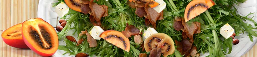 Tamarillo Bacon and Feta Salad Recipe