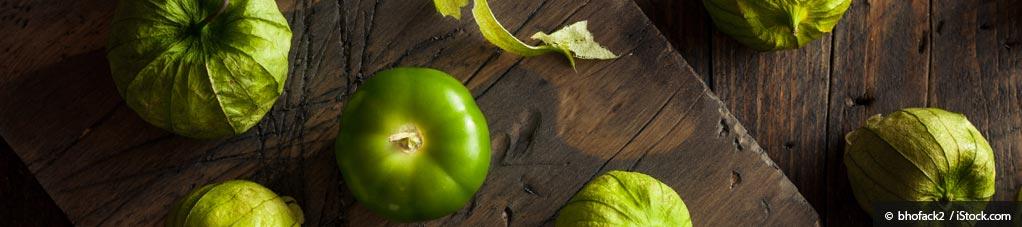 Recetas Saludables con Tomatillos