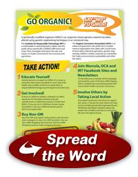 GMO Awareness Poster