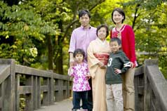 Japanese Family using Organic Royal Matcha Green Tea