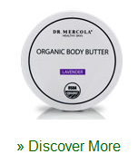 Organic Body Butter Lavender