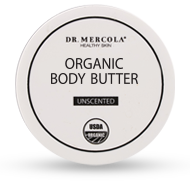 Organic Body Butter with 5 Spectacular Ingredients
