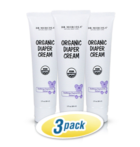 Organic Diaper Cream 3-Pack