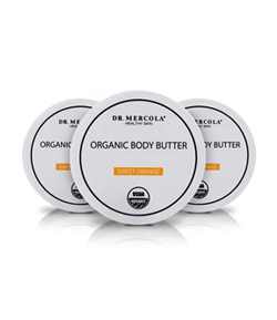 Organic Body Butter 3-Pack Orange
