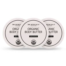 Organic Body Butter 3-Pack Unscented