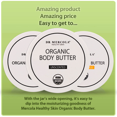 Organic Body Butter - New Wide Mouth Jar