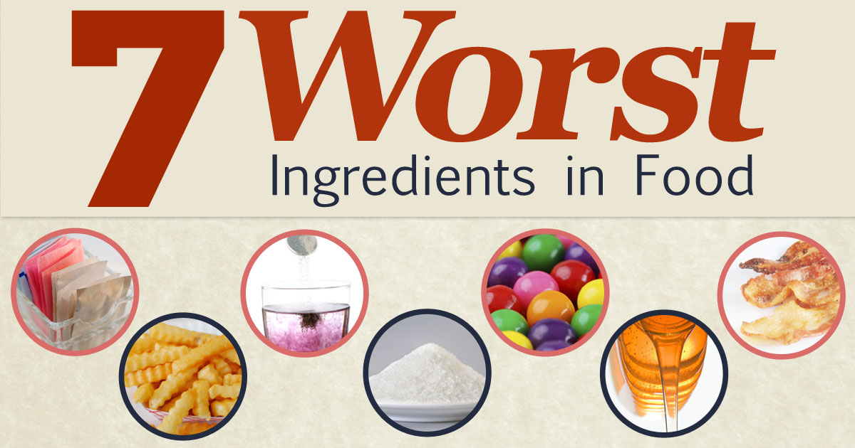 worst ingredients in processed foods