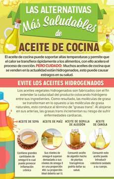 Aceite de Cocina Más Saludable