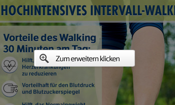 Hochintensives intervall-walking