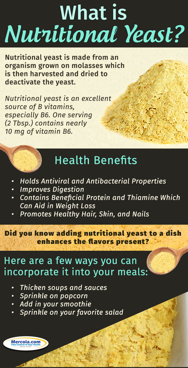 The Importance Of Nutritional Yeast To Your Health