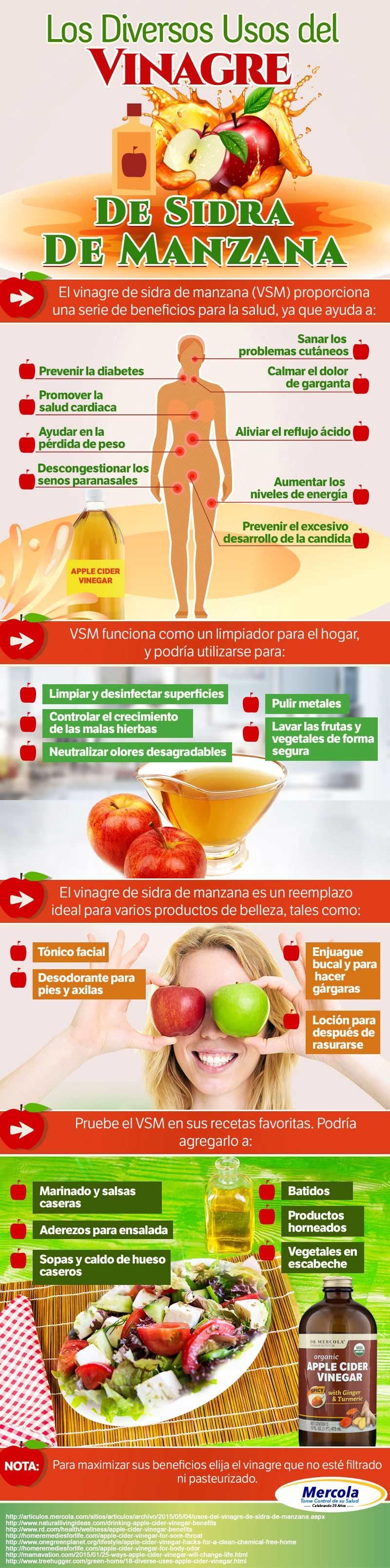 Los Diversos Usos del Vinagre de Sidra de Manzana