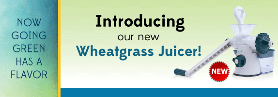 Introducing Manual Wheatgrass Juicer
