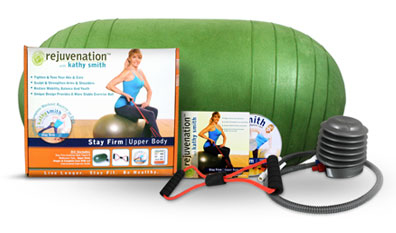 Kathy Smith Stay Firm Upper Body and Core Kit