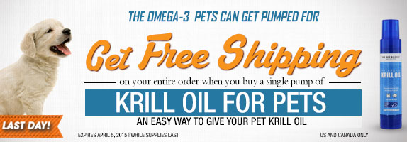 Krill Oil for Pets Special Offer