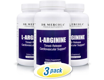 L-Arginine - Cardiovascular Support* 3pack
