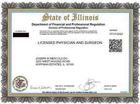 Medical Licenses
