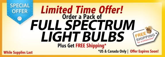Full Spectrum Light Bulbs Sale 50% Off