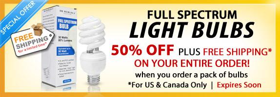 Full Spectrum Light Bulbs Sale 50% Off