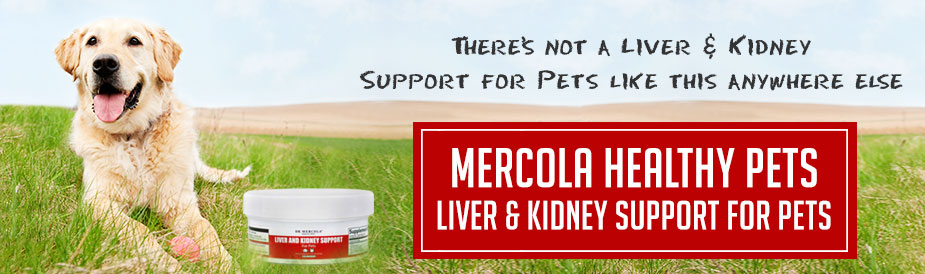 Liver and Kidney Support for Pets Special Offer