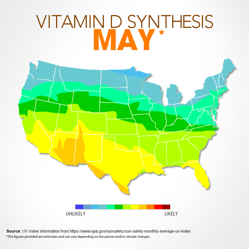 How To Prevent And Treat Sunburn - Vitamin d map us