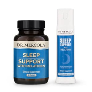 Melatonin Sleep Support Spray and Sleep Support with Melatonin