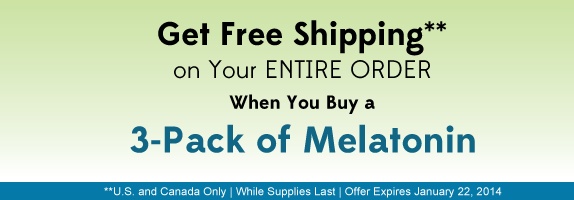 Melatonin Sleep Support* Spray 3-Pack Special Offer