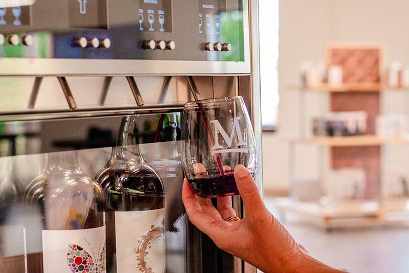 Wine refill
