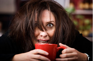 funny coffee addict