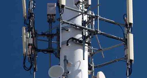 Radiación de torre de telefonía celular