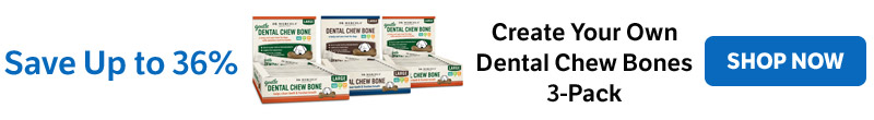 Up to 36% Off on Create Your Own Dental Chew Bones 3-Packs