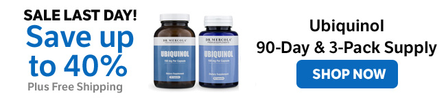 Save up to 40% on a Ubiquinol 90-Day Supply and 3-Pack Supply