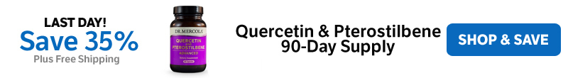 ​Save 35% on a Quercetin & Pterostilbene ​90-Day Supply