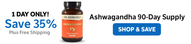 ​Save 35% on an Organic Ashwagandha 90-Day Supply​