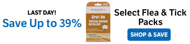 Bespaar tot 39% op Selecteer Flea & Tick Packs
