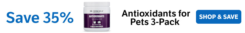 Save 35% on an Antioxidants for Pets 3-Pack