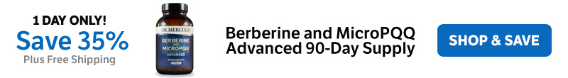 Save 35% on a Berberine and MicroPQQ Advanced 90-Day Supply