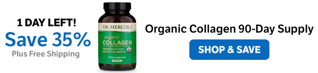 Save 35% on an Organic Collagen 90-Day Supply