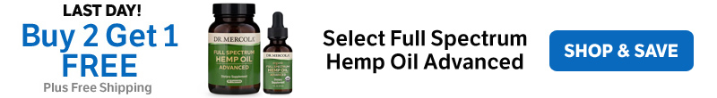 Buy 2 Get 1 FREE on Select Full Spectrum Hemp Oil Advanced