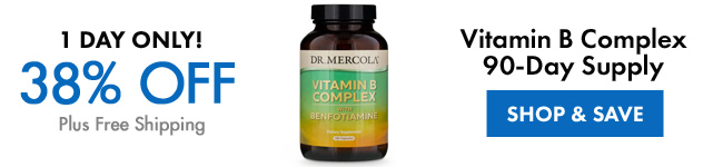 Get 38% Off on Vitamin B Complex 90-Day Supply