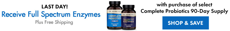 Receive Full Spectrum Enzymes 30-Day with Purchase of Select Complete Probiotics 90-Day Supply