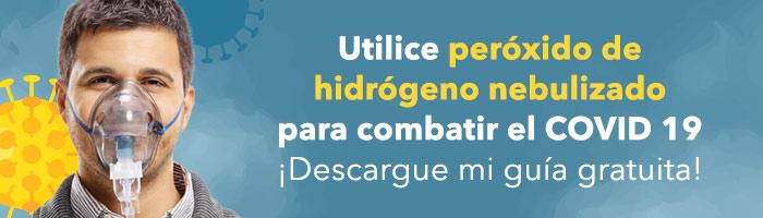 Utilice peróxido nebulizado para combatir el COVID-19