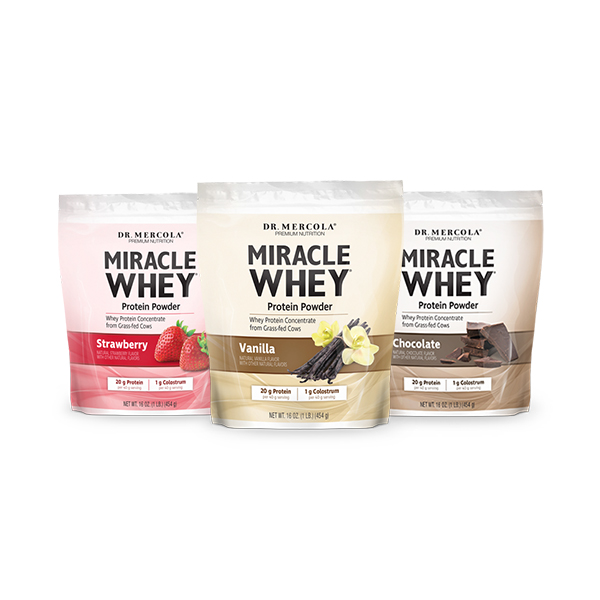 Miracle Whey: Create Your Own 3-Pack
