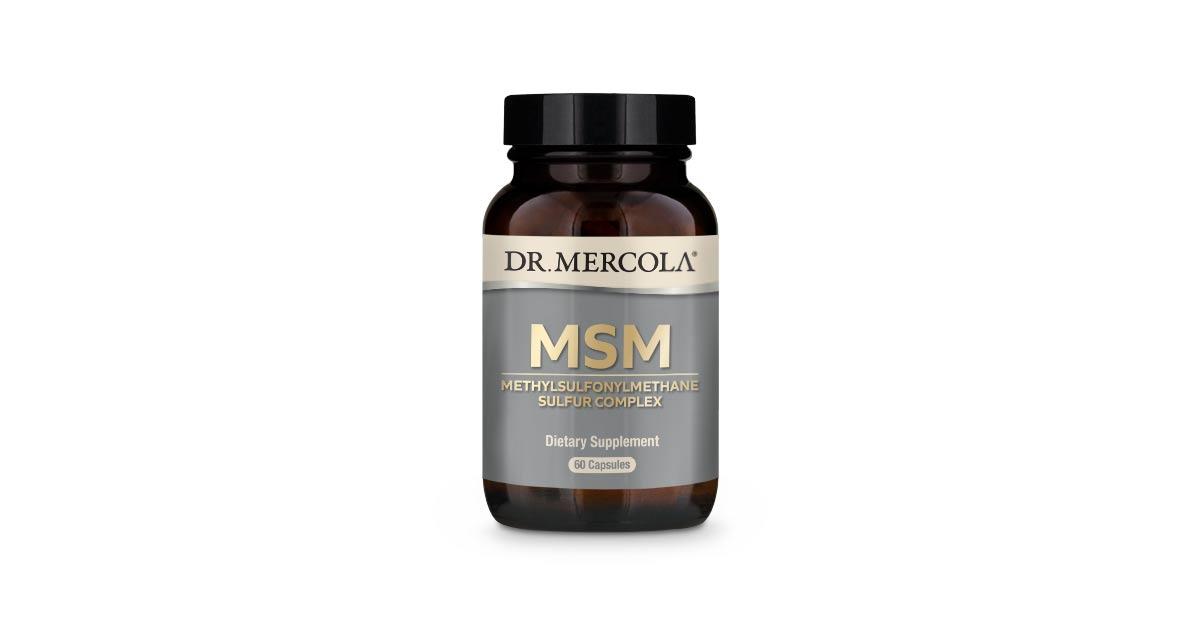 High-Quality MSM Sulfur Formula Supplement