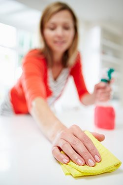 cleaning products health effects