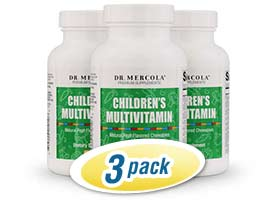 Childrens Chewable Multivitamin 3-Pack